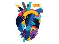 Love art illustration