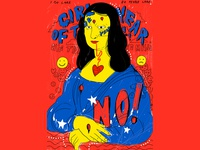 Mona lisa, Girl of the year poster