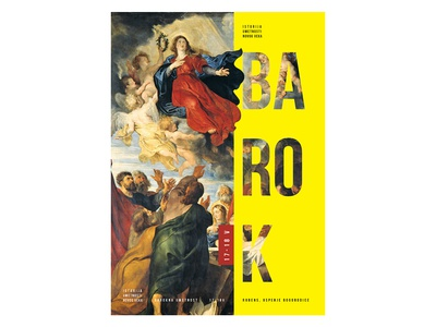 Baroque poster design