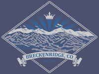 Kingdom of Breckenridge - Two color screenprint design