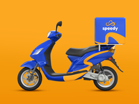 Speedy Delivery app Scooter