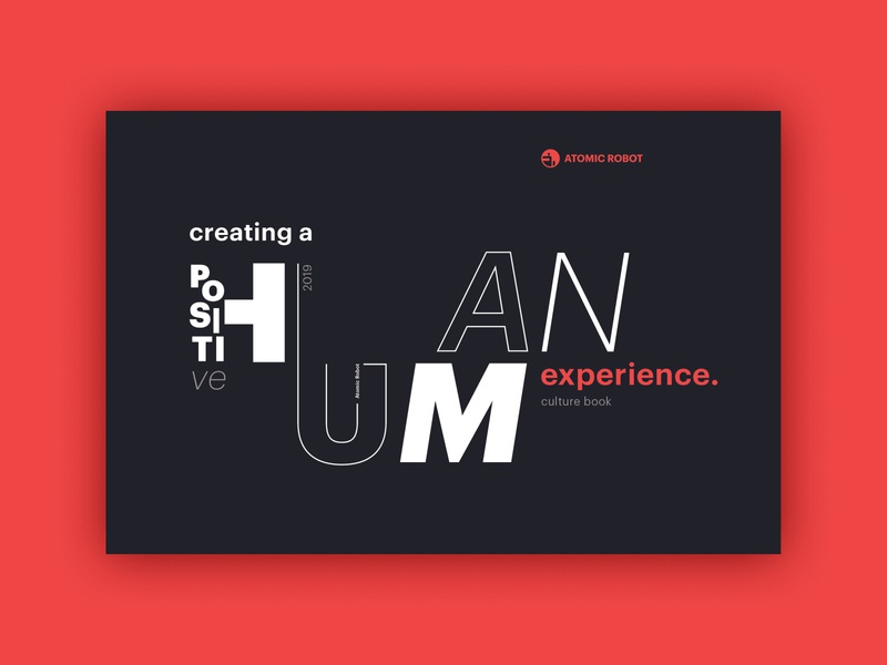 Atomic Robot | Culture Book human booklet mission statement atomic robot
