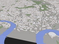 Visualising Cities in 3D using WebGL: SSAO and Tilt-shift