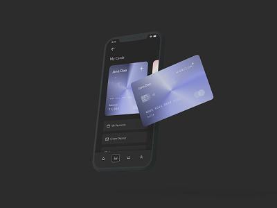 Horizon app productdesign credit digitalcreditcard ui mobile card creditcard acounting financial finance banking bank horizon