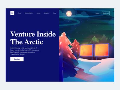 Arctic Hotel Landing