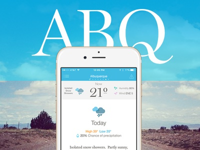 City Stamps (1 of 3) miller forecast abq ios app weather