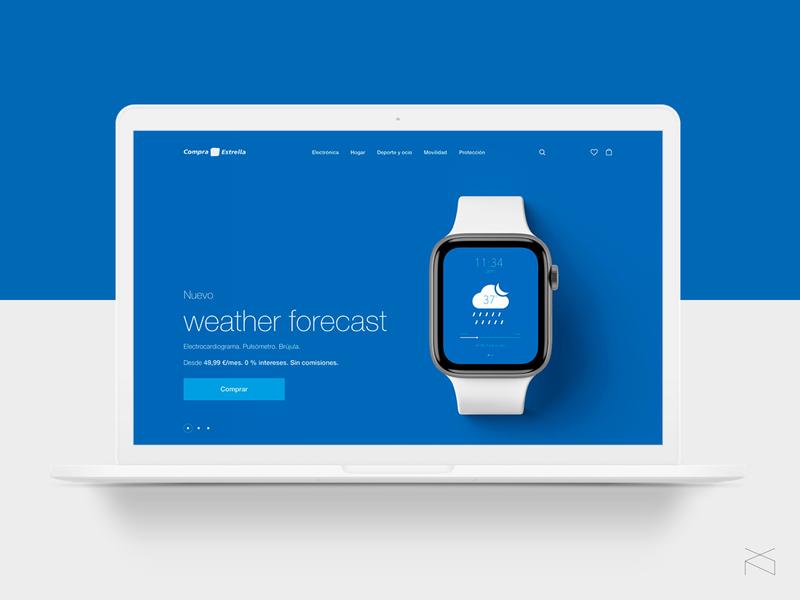 caixabank compra estrella - redesign concept helvetica ecommerce webdesign digital concept web design ux ui