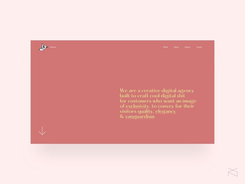 digital agency - concept web digital agency startup ux ui