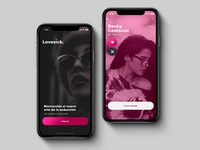 Lovesick App - UI Concept