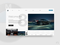 BMW Serie 8 - UI Concept 🚗