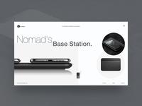 Nomad's Base Station - UI Concept