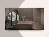 🕋 Spa & Wellness Center - UI Concept