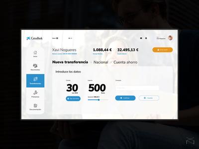 CaixaBank - redesign concept