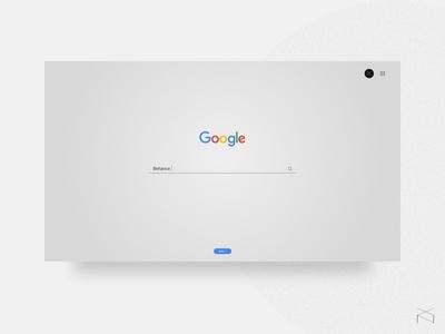 Google - redesign concept
