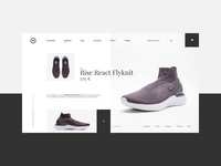 👟 SVD - concept product page