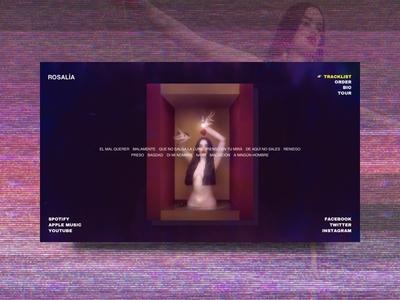 Rosalía - home concept