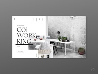 coworking - concept ui