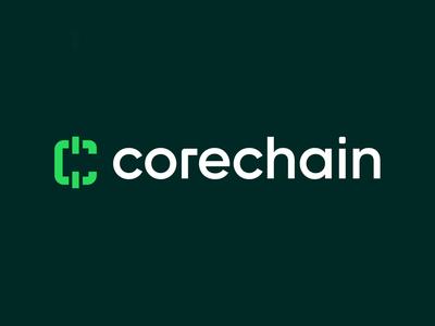 Corechain   Logo Animation technology saas fintech motion graphics branding animation logo