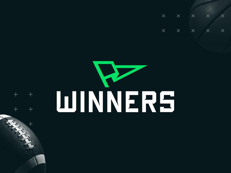 WINNERS   Sports Betting athletic wager sports betting sports logo branding