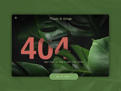 DailyUI 008 - 404 Error interface ux design design graphic design 404 ux ui design ui 008 daily ui challenge dailyui