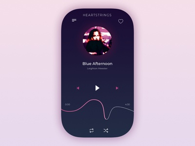 DailyUI 009 - Music Player