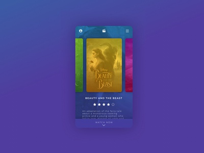 DailyUI 025 - TV/Movie App