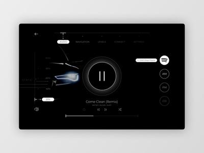 DailyUI 034 - Car Display