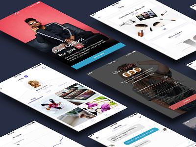 Lilac Studio v1.1 - Preview Freebie! mobile ux ui ui kit freebie