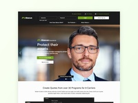 Abacus Insurance: New Website Design