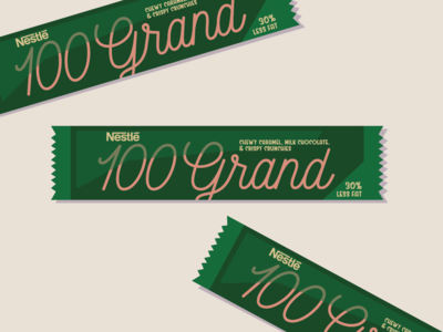 100 Grand Bar - Dribbble Weekly Warmup