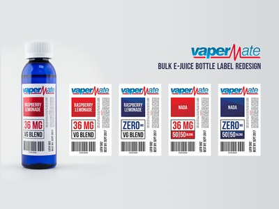 VaperMate Label Redesign