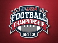 C-USA Football Championship Logo