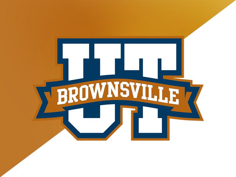 UT Brownsville Letter Crest college university identity logo branding athletics