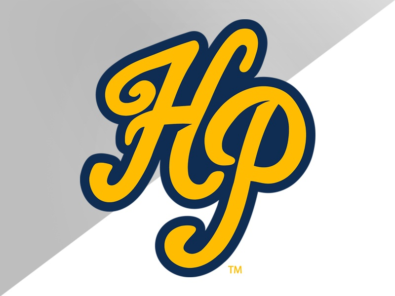 Highland Park (TX) Lettermark lettermark illustration high school identity logo branding athletics