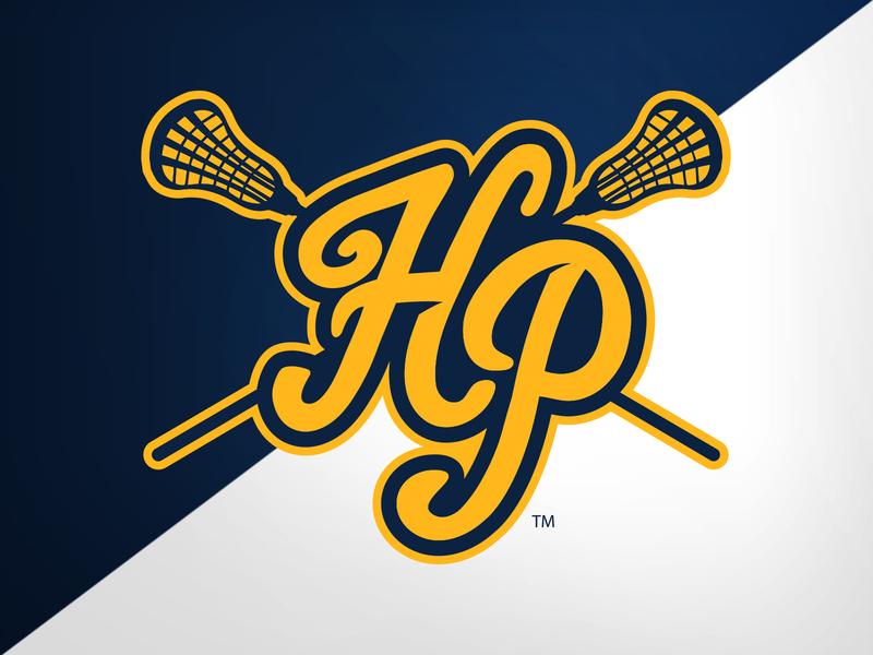 Highland Park (TX) Lacrosse Sport-Lock lacrosse high school identity logo branding athletics