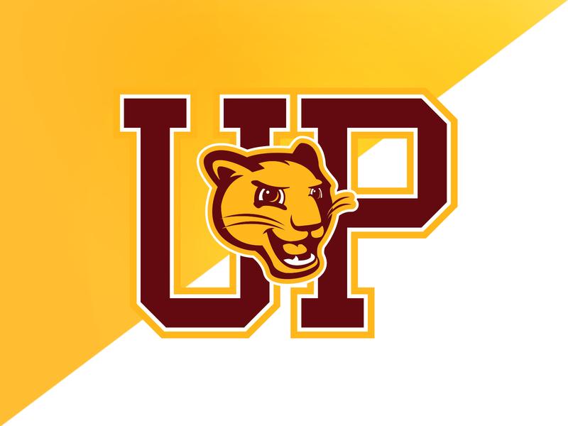 Highland Park (TX) University Park Elem. Panthers panthers elementary school elementary identity logo branding athletics
