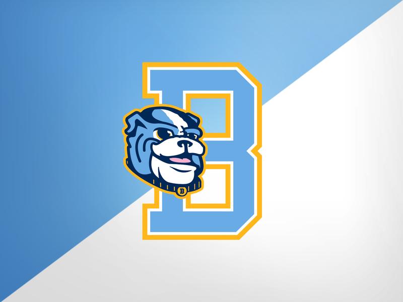 Highland Park (TX) Boone Elem. Bulldogs up bulldogs illustration design identity logo branding athletics