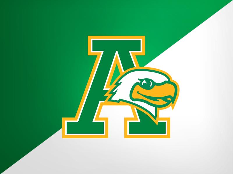 Highland Park (TX) Armstrong Elem. Eagles eagles elementary school illustration design identity logo branding athletics