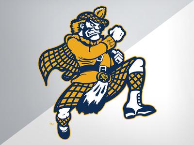 Highland Park (TX) HS Scots hp high school scots design illustration identity logo branding athletics