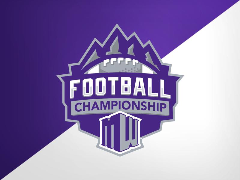 Mountain West Football Championship college football college conference championship football identity logo branding athletics