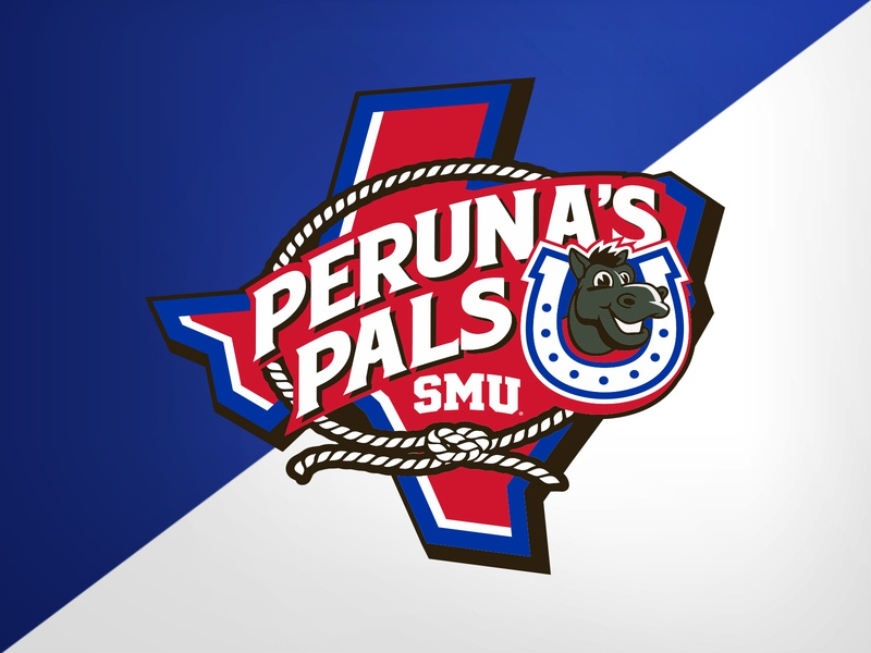 SMU Kids Club - Primary kids club pony mustangs smu design illustration college university identity logo branding athletics