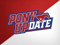 SMU Pony UPdate update football college university identity logo branding athletics