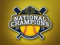 UCO Softball National Championship Logo