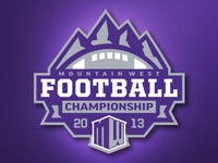 Mountain West Football Championship Logo