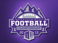 Mountain West Football Championship Logo