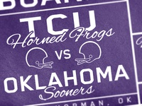 TCU Frog Club Railgate Ticket
