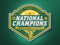 NDSU Football National Championship Logo