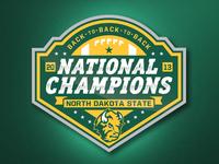 NDSU Football National Championship Logo