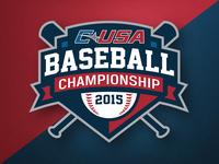C-USA Baseball Championship Logo 16