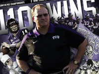TCU Football Design